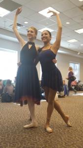 Anna and Alisha