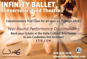Infinity Ballet Cinderella Ballet Performance Handout