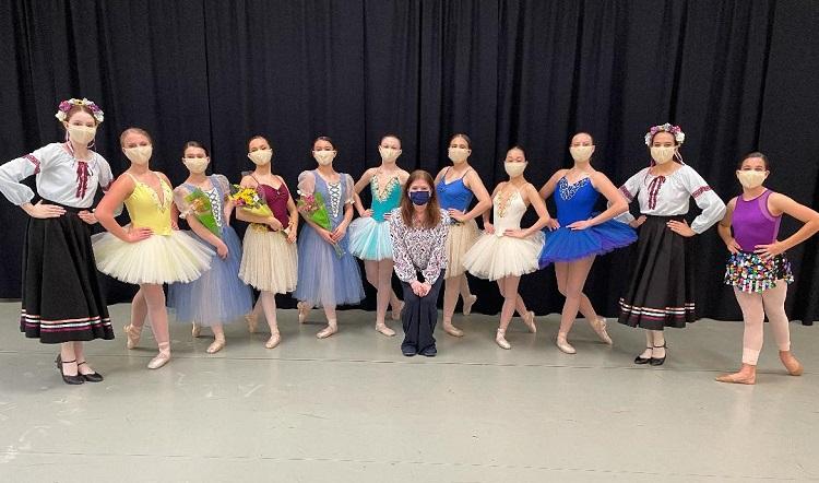 Infinity Ballet Audition Dancers